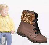 Bota coturno menino menina infantil feminino masculino 001