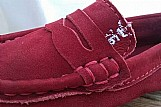 Sapato mocassim infantil sergio k couro
