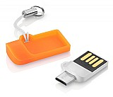 Pendrive otg dual usb 8gb smartphone/tablet multilaser pd507