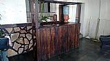 Bar de madeira rustico