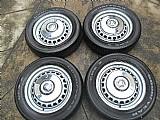 Fusca roda ferro original aro 15 pneu usado goodyear calota metal p.fumagalli cpa mooca