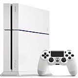 Playstation 4 branco ps4 500gb   hdmi   blu-ray 3d   brinde