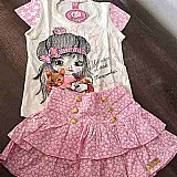 Lindas roupas infantil para meninas tamanho 4 - 6