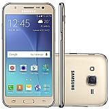 Samsung galaxy j5 duos j500m dourado,  4g,  1.2 ghz,  16gb