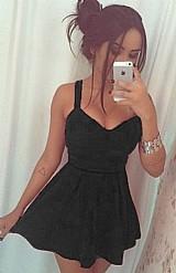 Vestido feminino rodado princesa panicat blogueiras