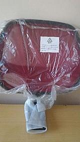Encosto da cadeira home office fusion c/ nylon cor vermelho