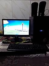 Computador cce semi-novo completo.
