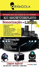 Kit show completo