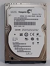 Hd notebook seagate 500gb 7200.4 - sata 3
