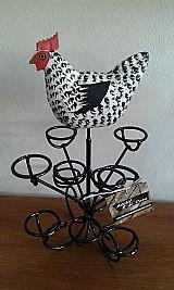 Porta ovos galinha
