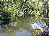 Terreno com lagos e peixe dentro da cidade iranduba