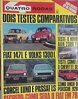 Quatro rodas n.202 maio 1977/fiat 147 volks1300 corcel chevette passat ls