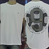 Pack 10 camisetas grif originais osklen john john reserva sergio k calvin klein