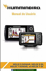 Manual em portugues do gps humminbird helix 5 di helix 7 di
