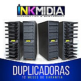 Duplicadora de cd e dvd c/ 11  gravadores