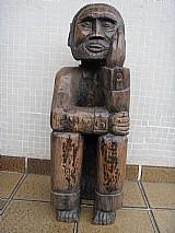 Arte popular - escultura em madeira de edmar da bahia