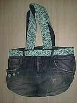 Bolsa feminina jeans  promocao