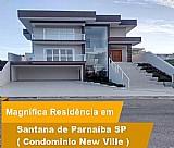 Casa 3 dormitorios condominio new ville santana do parnaiba
