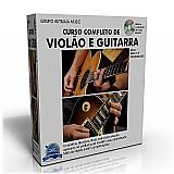 Curso completo de violao e guitarra - versao 2016 - frete gratis