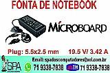 Carregador do notebook microboard novo na caixa em salvador