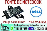 Fonte do notebook dell novo na caixa em salvador