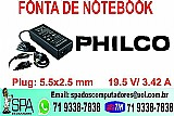 Fonte do notebook philco novo na caixa em salvador
