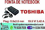 Fonte do notebook toshiba novo na caixa em salvador