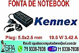 Fonte do notebook kennex novo na caixa em salvador