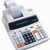 Calculadora elgin mb 7123 visor e impressora