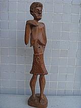 Arte popular escultura em madeira de ze ferreira - juazeiro ceara