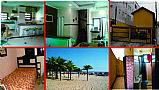 Praia grande sobrado 2 dorms com quintal em condominio 100mts praia completo com churrasqueira