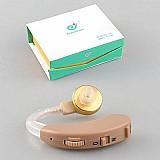 Aparelho amplificador auditivo digital f138,   com 3 baterias,   oferta