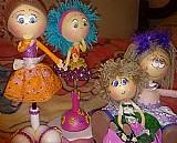 Bonecas fofuchas e artigo de decoracao