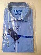 Camisa social masculina slim r 56, 00 a unidade