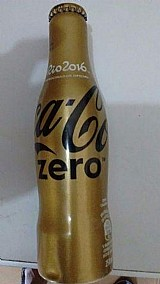 Garrafinhas coca-cola rio 2016