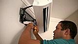 Suporte auxiliar ck para instalacao ar condicionado split 7000 a 30000 btu
