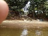 Terreno na ilha geografica no rio parana