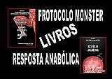 Livros protocolo monster e resposta anabólica