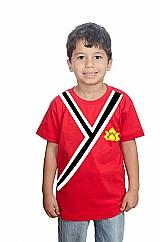 Camiseta power rangers samurai infantil algodao