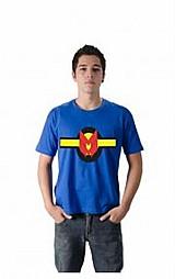 Camiseta super heroi quadrinhos miracleman logo