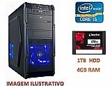 Desktop - pc 4gb,   corel i5,   1tb hdd,   120 ssd