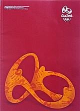 Book encerramento jogos olimpicos rio 2016,   2 idiomas,   ingresso com codigo de barras e copo 473ml