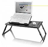 Mesa portatil para notebook com cooler
