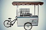 Triciclos para lanches e carrocinhas de churros gourmet