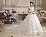 Vestido de noiva princesa plus size sob encomenda 2017