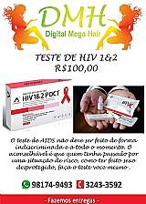Teste de hiv 1 e 2