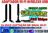 Adaptador usb wi-fi super potente em salvador ba