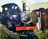 Trem de ferro,  quadro do artista marcier