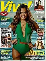 Anitta com 22 anos coleciona premios,   revista revista viva mais nº 842