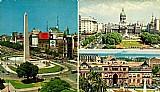 Buenos aires,  av 9 de julho,  plaza del congresso e casa rosada de 22/07/1972